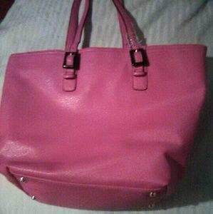 Erona pink waterproof tote